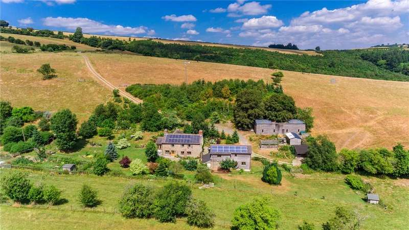 4 Bedrooms Equestrian Facility Character Property for sale in Mainstone, Bishops Castle, Shropshire