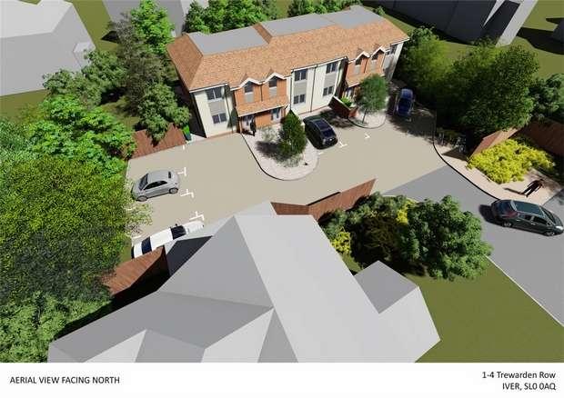 3 Bedrooms Terraced House for sale in Trewarden Row, Trewarden Avenue, Iver Heath, Bucks