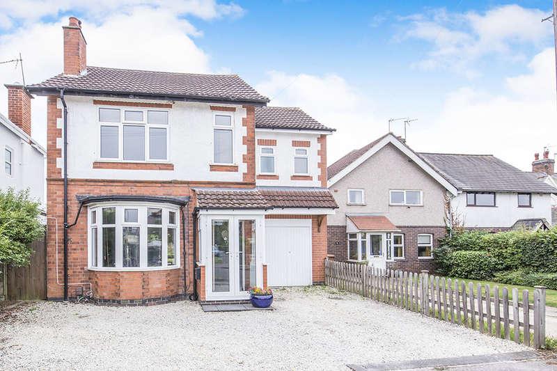 3 Bedrooms Detached House for sale in Sketchley Road, Burbage, Hinckley, LE10