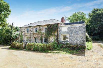 4 Bedrooms Detached House for sale in Manaccan, Helston, Cornwall