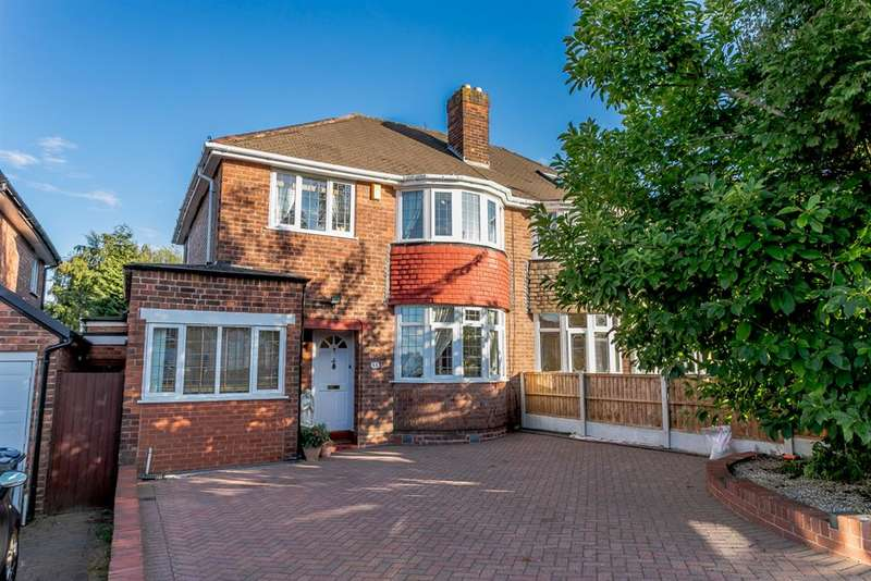 4 Bedrooms Semi Detached House for sale in Rowan Road, Sutton Coldfield, B72 1NW