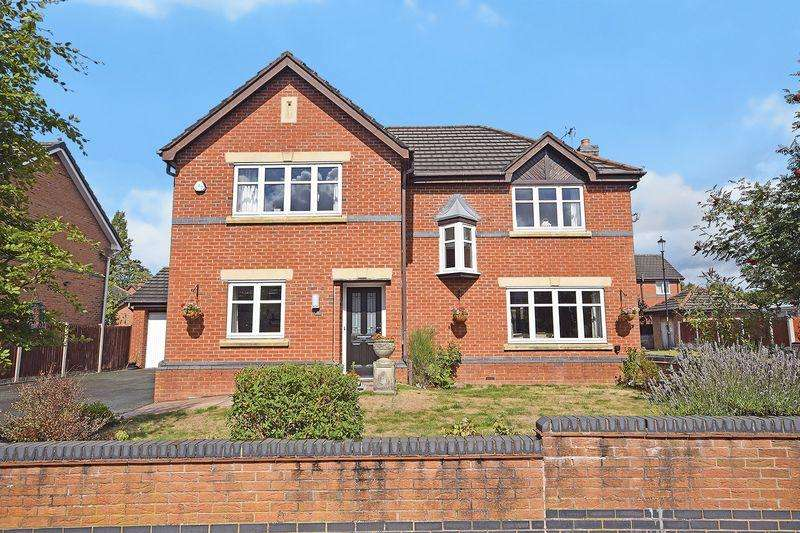 4 Bedrooms Detached House for sale in Marsden Court, Widnes