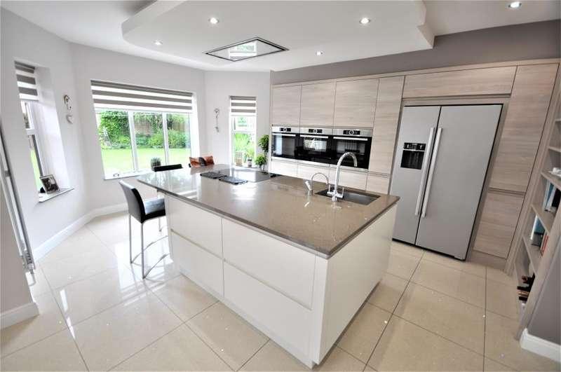 5 Bedrooms Detached House for sale in Swarbrick Avenue, Grimsargh, Preston, Lancashire, PR2 5JJ