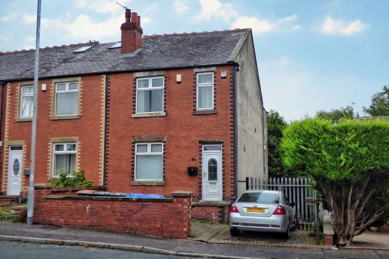 3 Bedrooms End Of Terrace House for sale in 22 War Office Road, Bamford, Rochdale, Lancashire