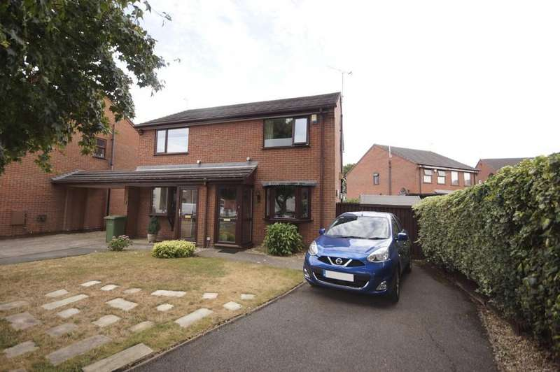 2 Bedrooms Semi Detached House for sale in Bishop King Court, Lincoln