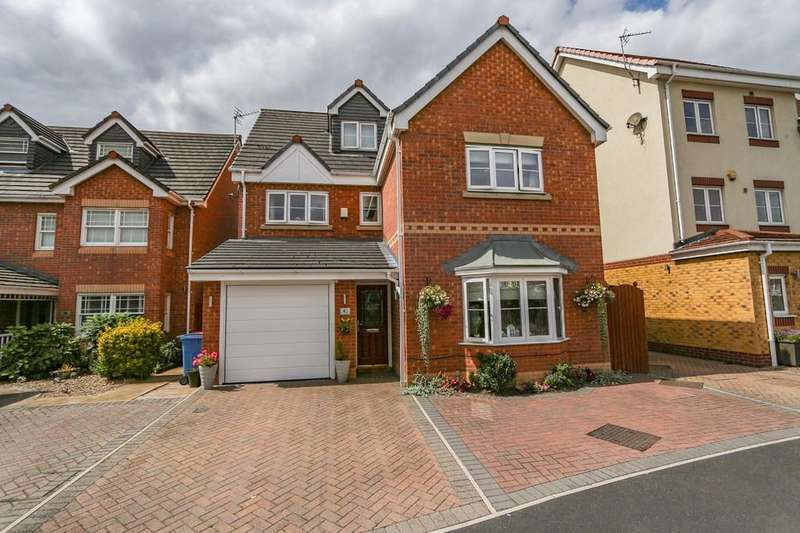 4 Bedrooms Detached House for sale in 41 Rixtonleys Drive, Irlam