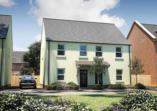 2 Bedrooms Semi Detached House for sale in The Exe, Seabrook Orchards, Topsham