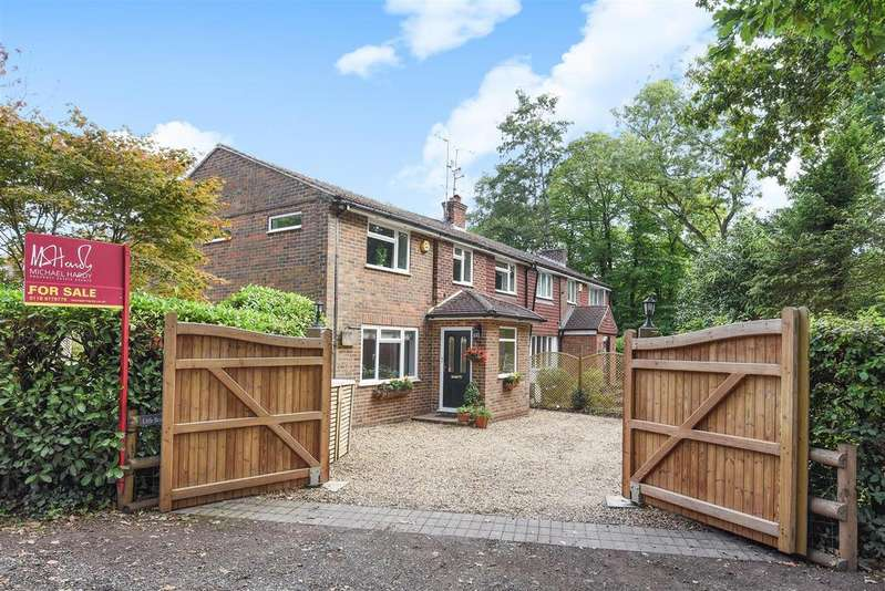 4 Bedrooms Semi Detached House for sale in Heath Ride, Finchampstead, Berkshire, RG40 3QF