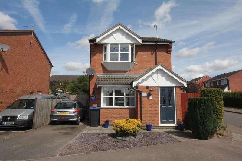 3 Bedrooms Detached House for sale in Florian Way, Hinckley