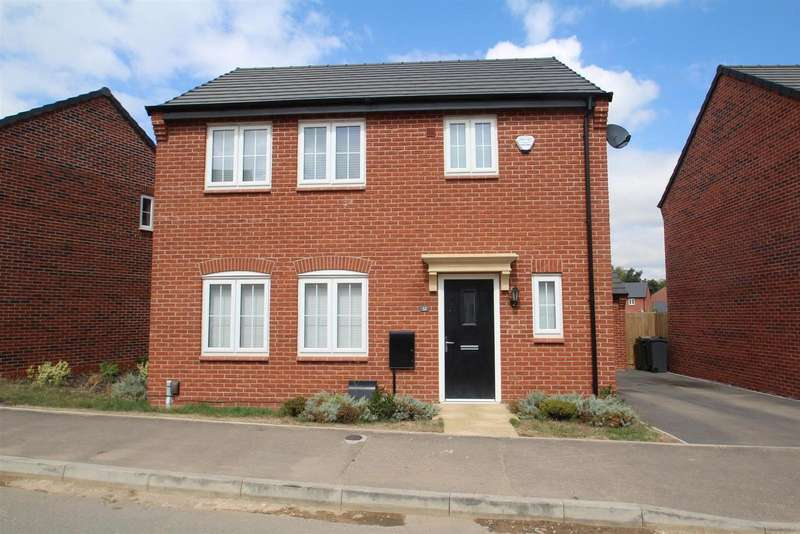 3 Bedrooms Property for sale in Baum Drive, Mountsorrel, Loughborough