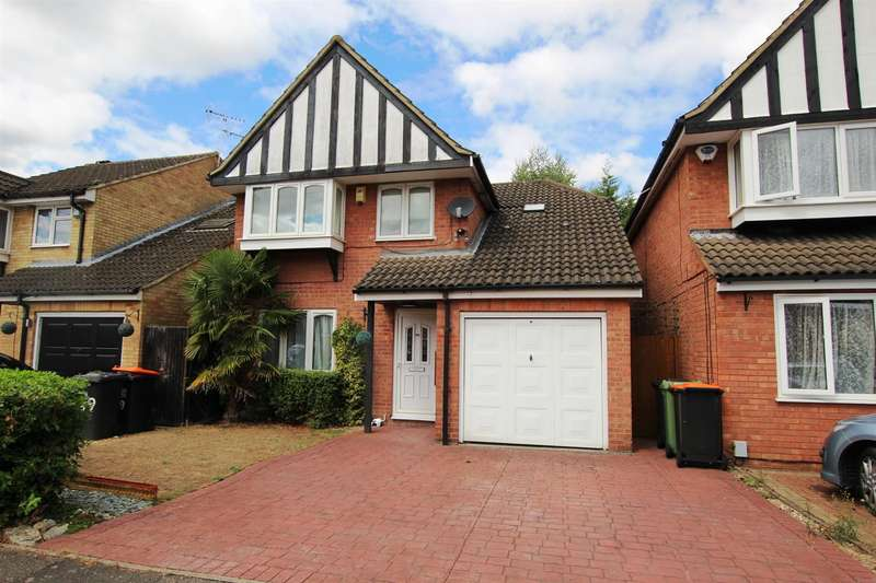 3 Bedrooms Detached House for sale in Halleys Way, Houghton Regis, Dunstable
