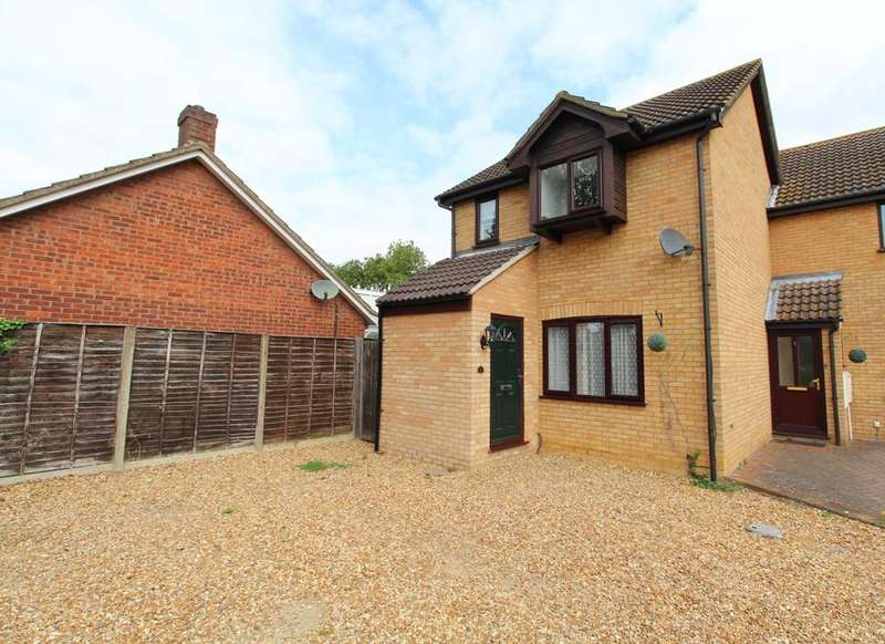 3 Bedrooms End Of Terrace House for sale in Normans Close, Great Barford MK44