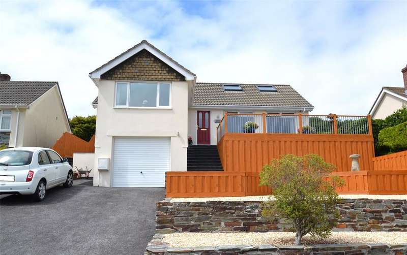 4 Bedrooms Detached Bungalow for sale in Lanhydrock View, Bodmin