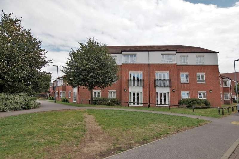 2 Bedrooms Apartment Flat for sale in Olsen Rise, Olsen Court, Lincoln