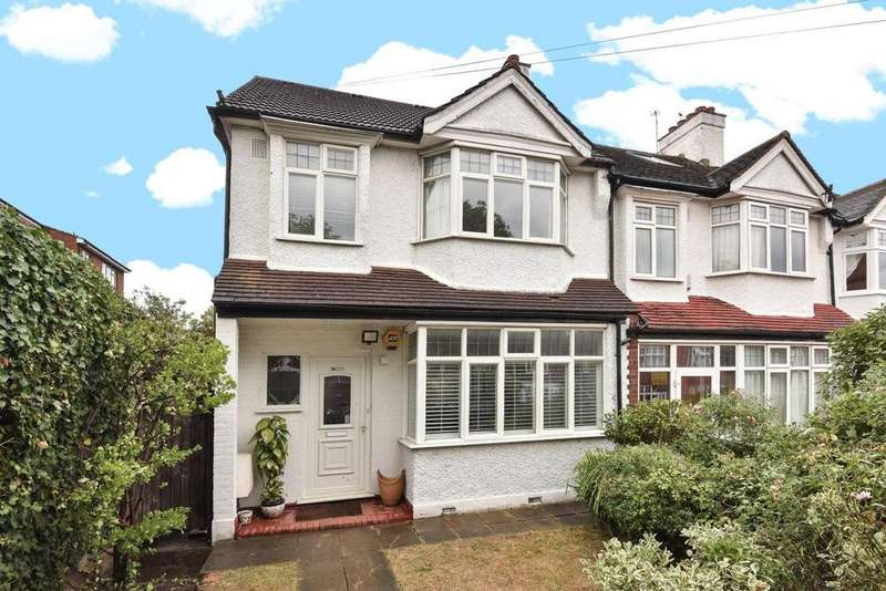4 Bedrooms End Of Terrace House for sale in Salisbury Road, Wimbledon