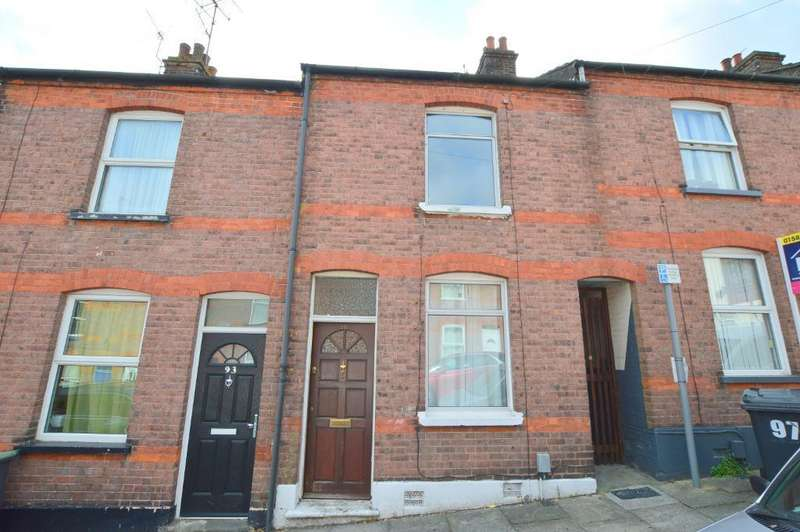 2 Bedrooms Terraced House for sale in Cambridge Street, South Luton, Luton, LU1 3QT
