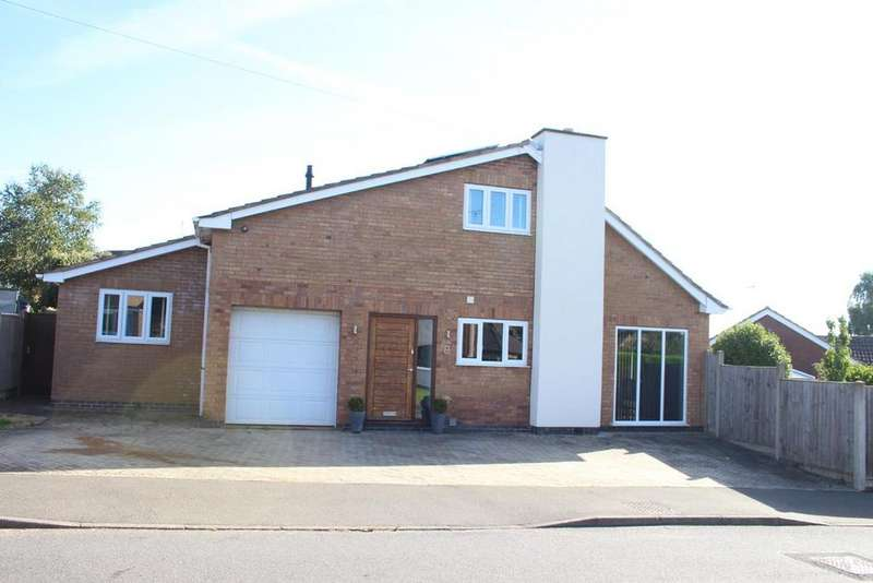 4 Bedrooms Detached House for sale in Woodstock Close, Burbage