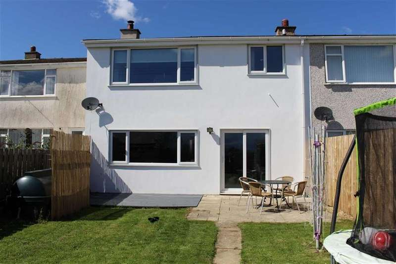 4 Bedrooms Terraced House for sale in Cae Cali, Brynteg, Anglesey