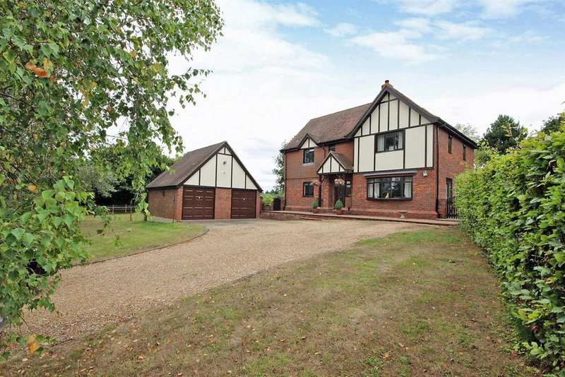 4 Bedrooms Detached House for sale in Church Farm Lane, Wilden, Bedford