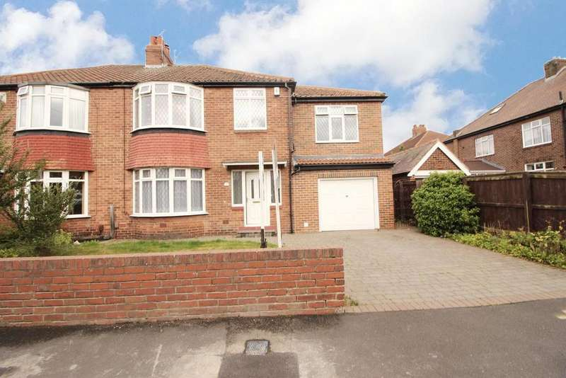 5 Bedrooms Semi Detached House for sale in Leyburn Drive, Newcastle Upon Tyne