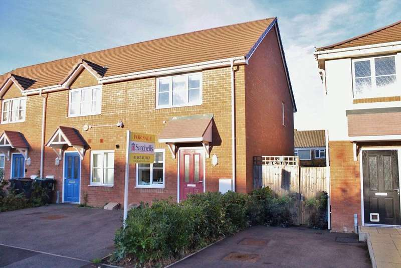 2 Bedrooms End Of Terrace House for sale in Verde Close, Luton, LU2