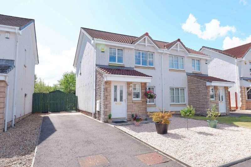 3 Bedrooms Semi-detached Villa House for sale in Woodlea Gardens, Bonnybridge, FK4 1DF