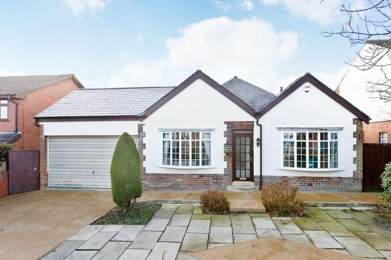 4 Bedrooms Detached Bungalow for sale in New Hall Lane, Bolton, BL1