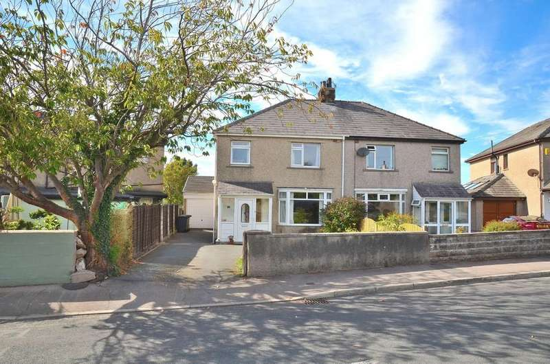3 Bedrooms Semi Detached House for sale in Hawthorn Road, Bolton Le Sands