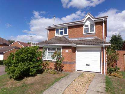 4 Bedrooms Detached House for sale in Grayswood Drive, Anstey Heights, Leicester, Leicestershire