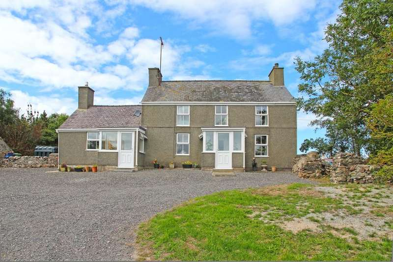 5 Bedrooms Detached House for sale in Llanrhyddlad, Holyhead, North Wales