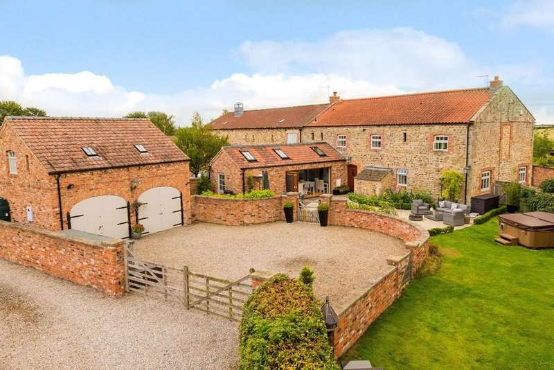 5 Bedrooms Barn Conversion Character Property for sale in Nosterfield, Bedale