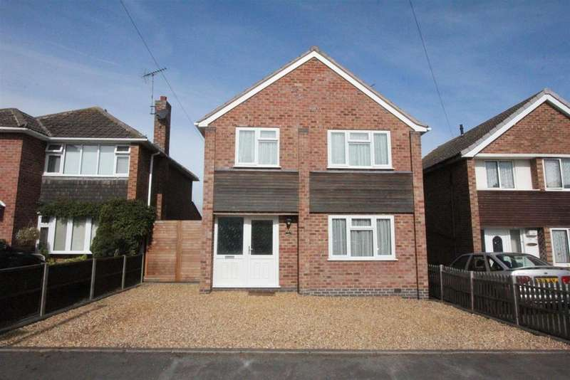 3 Bedrooms Detached House for sale in Frewen Drive, Sapcote