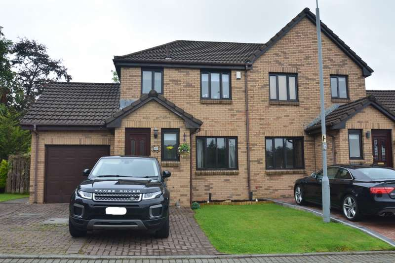 3 Bedrooms Semi Detached House for sale in Turnhill Drive, Erskine, PA8
