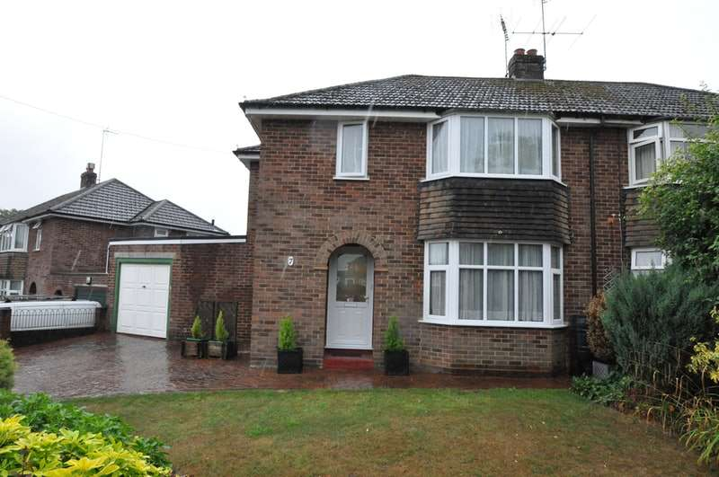 3 Bedrooms Semi Detached House for sale in Longworth Avenue, Reading, Berkshire, RG31