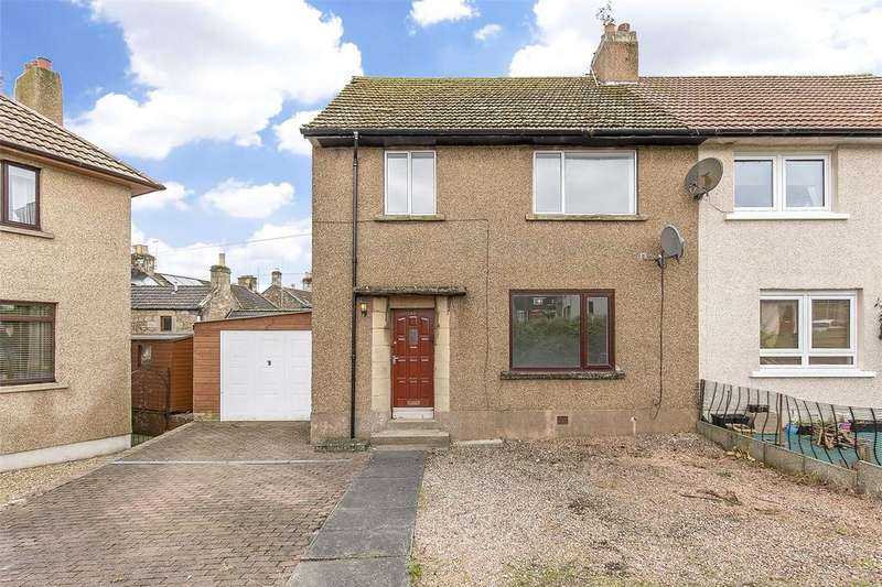 3 Bedrooms Semi Detached House for sale in 17 Braehead, Cupar, Fife, KY15