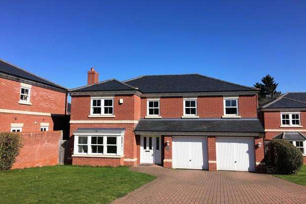 5 Bedrooms Detached House for sale in Wallis Close, Melton Mowbray, LE13