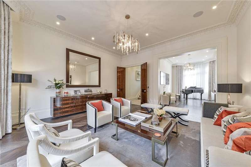 5 Bedrooms House for sale in Sloane Gardens, Belgravia, London, SW1W