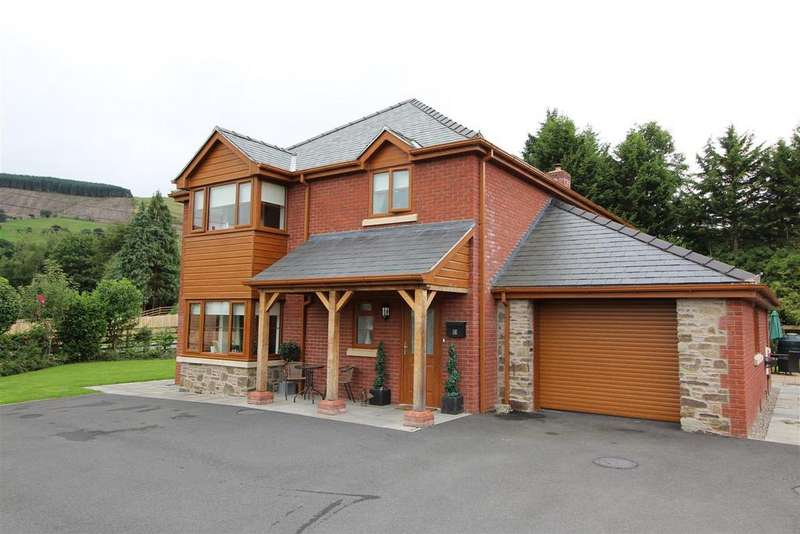5 Bedrooms Detached House for sale in Troed Y Cyrniau, Penybontfawr, Oswestry