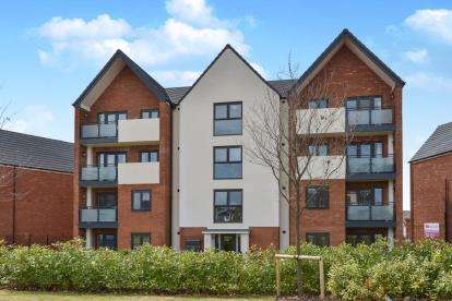 2 Bedrooms Flat for sale in Cicero Crescent, Fairfields, Milton Keynes, Buckinghamshire