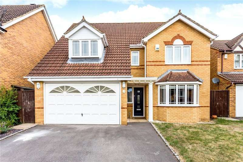 4 Bedrooms Detached House for sale in Withybed Way, Thatcham, Berkshire, RG18