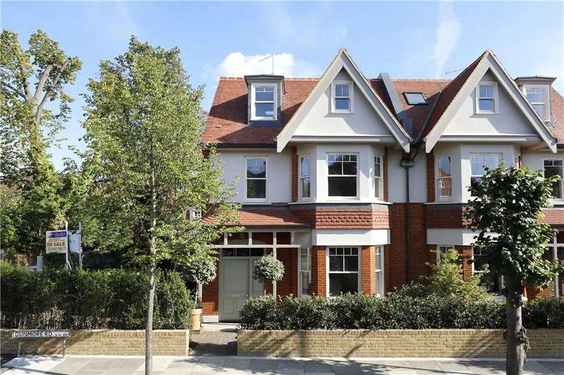 4 Bedrooms Terraced House for sale in Dunmore Road, West Wimbledon, SW20