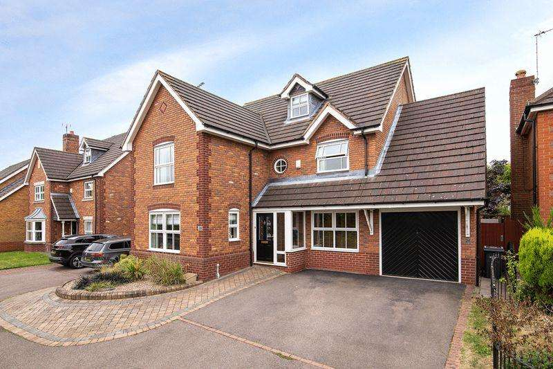5 Bedrooms Detached House for sale in Casern View, Sutton Coldfield
