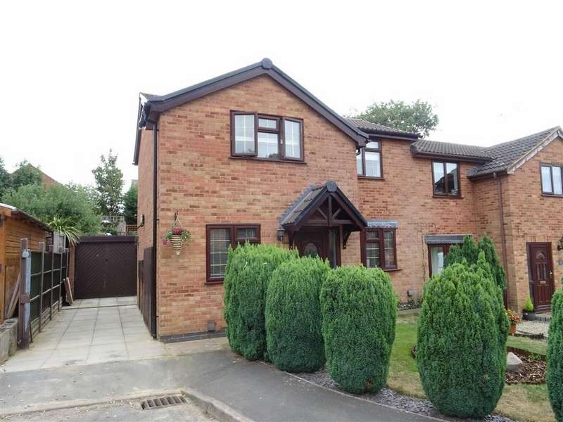 3 Bedrooms Semi Detached House for sale in Cottage Gardens, Earl Shilton
