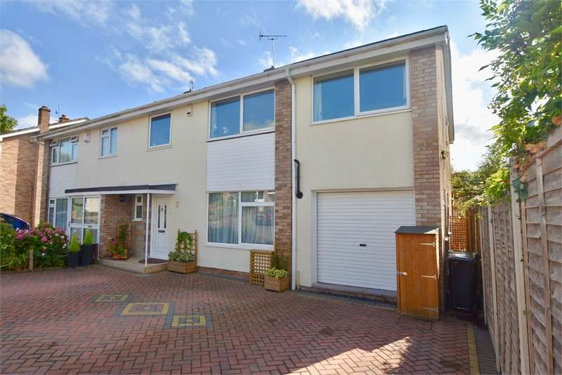 5 Bedrooms Semi Detached House for sale in Mariners Close, Backwell, Bristol, North Somerset