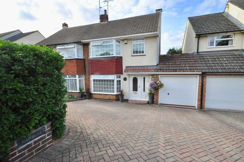3 Bedrooms Semi Detached House for sale in Clivedale Road, Woodley, Reading, RG5 3RD