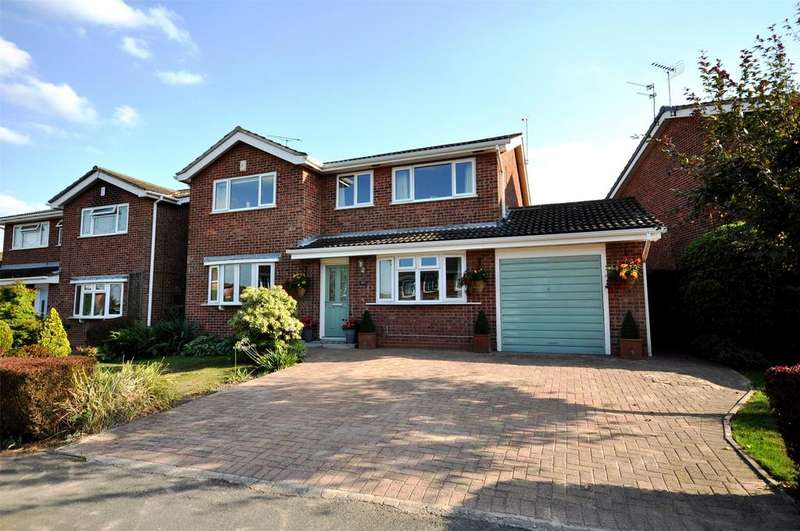 5 Bedrooms Detached House for sale in Glebe Road, Groby, Leicester