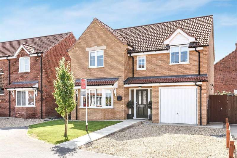 4 Bedrooms Detached House for sale in Tansy Way, Spalding, PE11