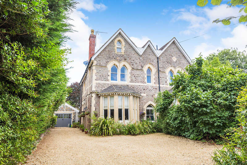4 Bedrooms Semi Detached House for sale in The Avenue, Clevedon, BS21