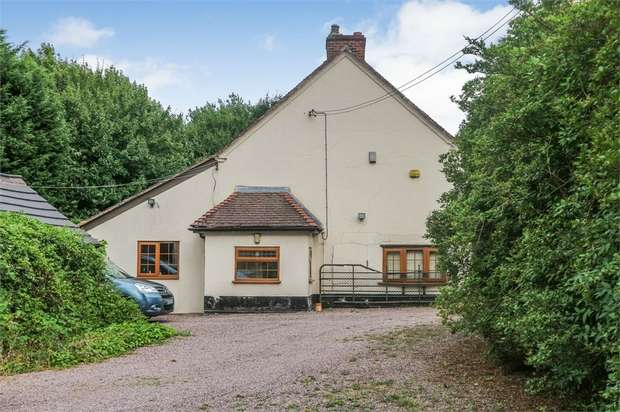 3 Bedrooms Detached House for sale in Watling Street, Four Crosses, Cannock, Staffordshire