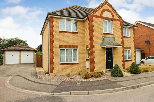 4 Bedrooms Detached House for sale in Tribune Close, Chatteris, Cambridgeshire